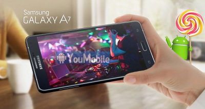 Samsung Galaxy A7 получил Android 5.0.2 Lollipop