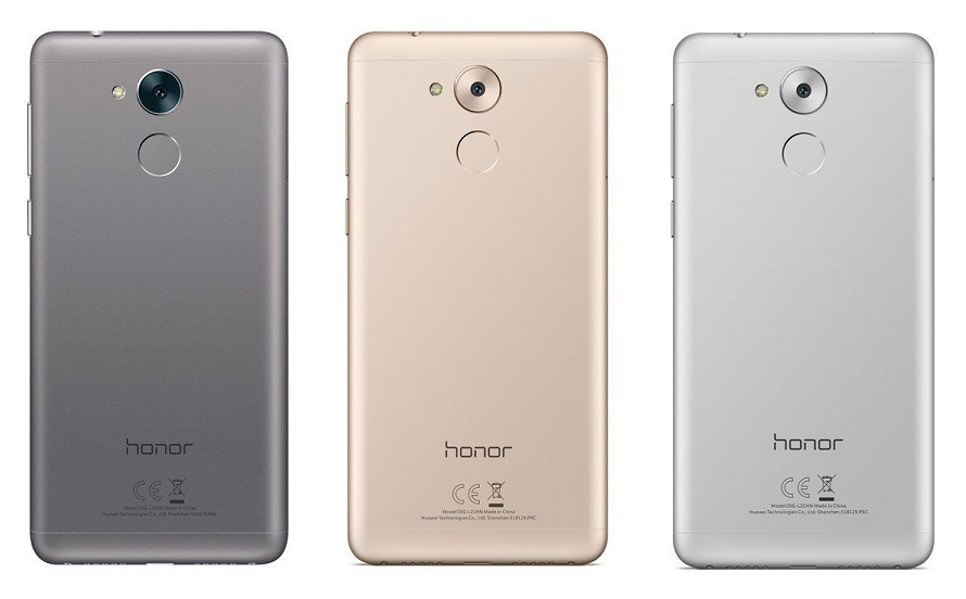 Huawei Honor 6C silver gold grey