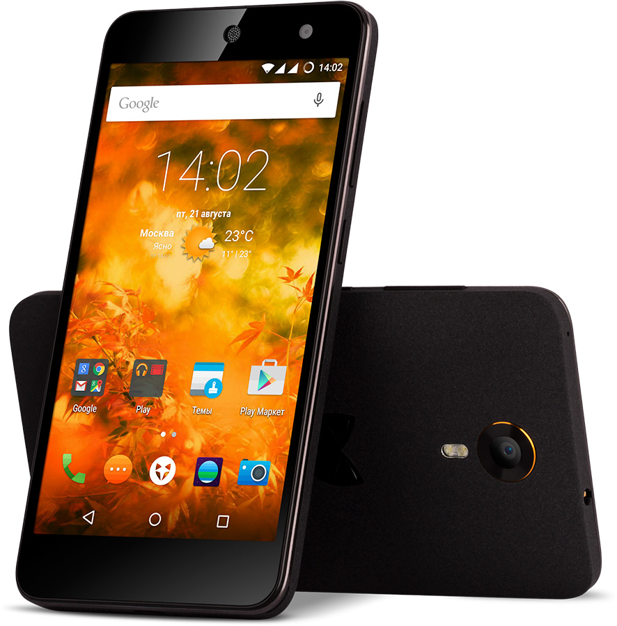 Смартфон Wileyfox Swift черный