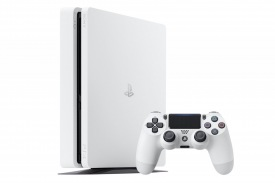 Компания Sony анонсировала PlayStation 4 Slim в белом корпусе